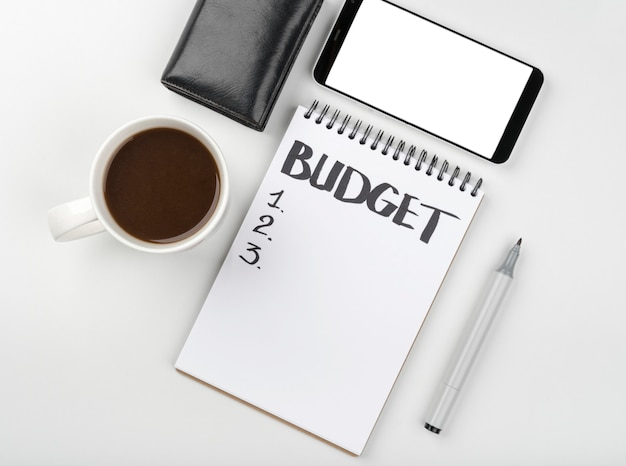 予算計算のためのノート