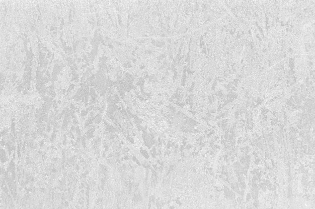 壁に凍った冬の水