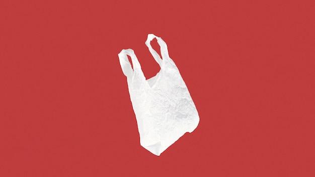 Абстрактная концепция пластиковый пакет с копией пространства