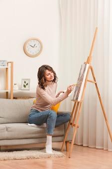 Женщина дома живопись