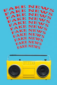 ラジオ放送偽ニュース