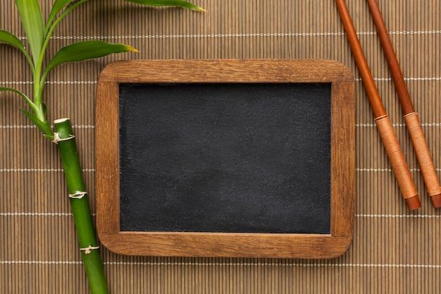 竹フレームコンセプトのトップビュー