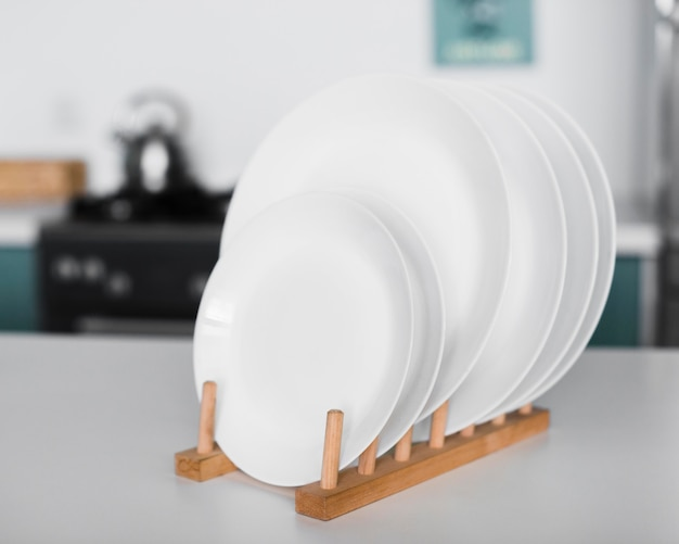 クローズアップの家庭用重ね皿