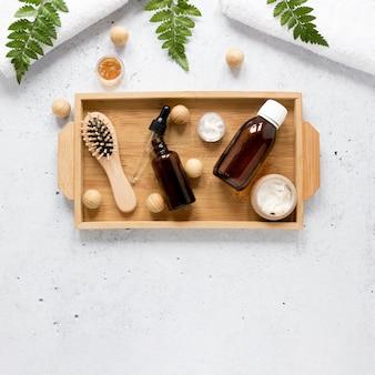 Плоская прокладка из натурального эфирного масла