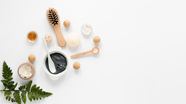 コピースペースと自然派化粧品のコンセプト