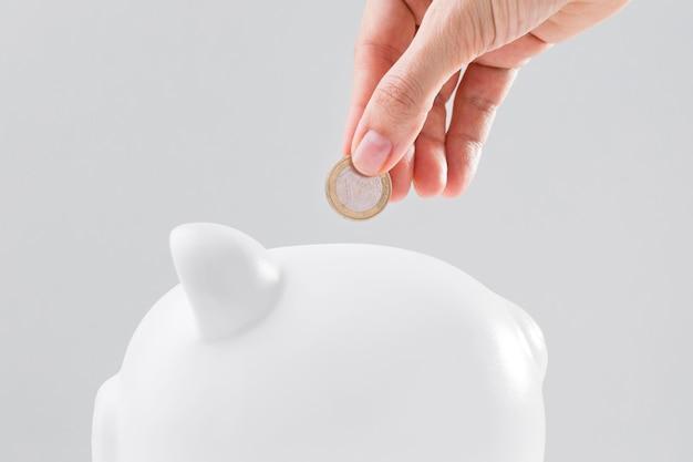 貯金箱の節約