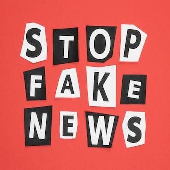 Прекратить делать новости для лица асимметричные письма