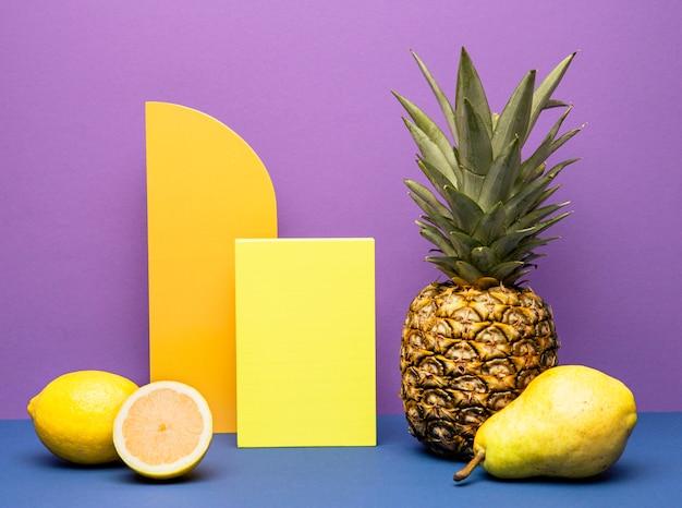 Свежие фрукты для смузи