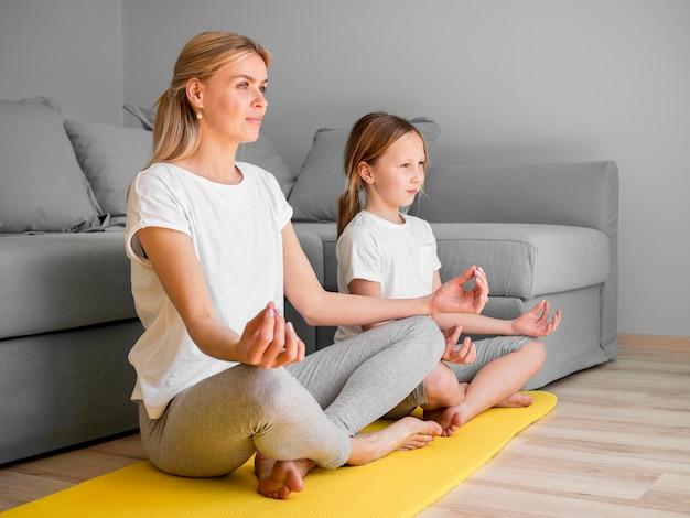 Медитация дома