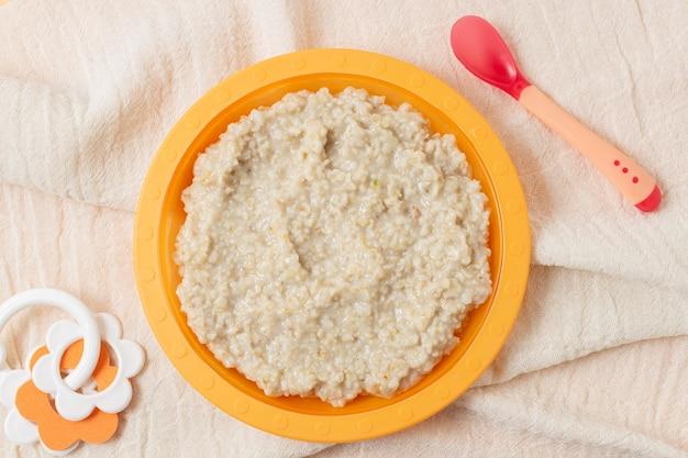 赤ちゃん自家製お粥フラットレイアウト