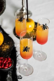 Напитки на хэллоуин