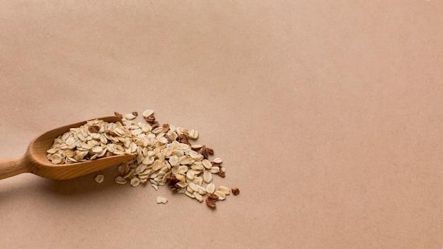 Крупный план зерновой смеси