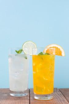 柑橘類の飲み物