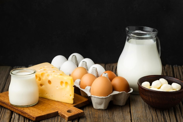Макро молочные продукты