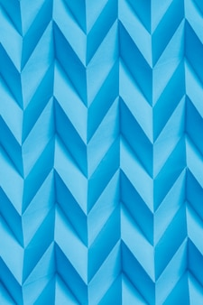 Абстракция сложенная бумага синий оригами геометрический футуристический узор