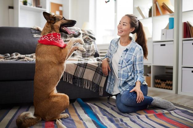 Дрессировка собак на дому