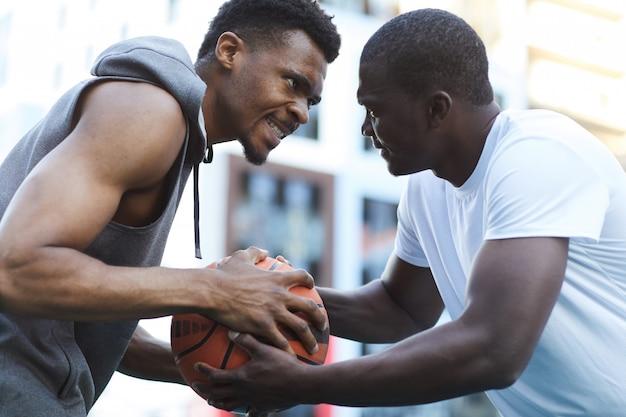 バスケットボールの競争