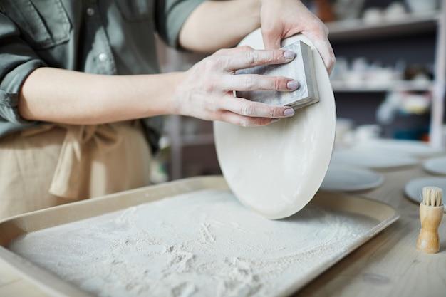 Женские керамические шлифовальные пластины