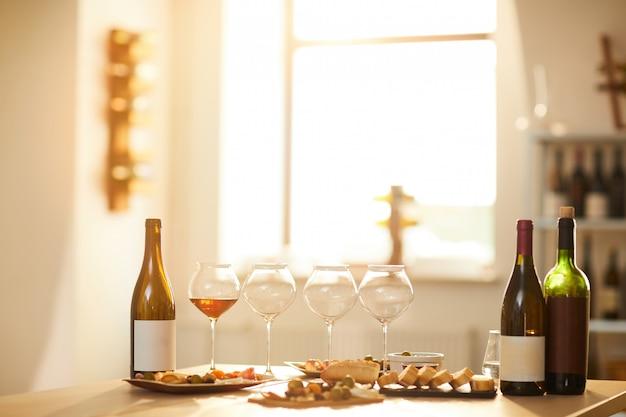 Фон дегустации вин