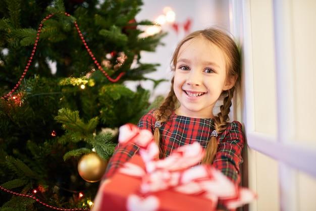 クリスマスプレゼントを開く時間です