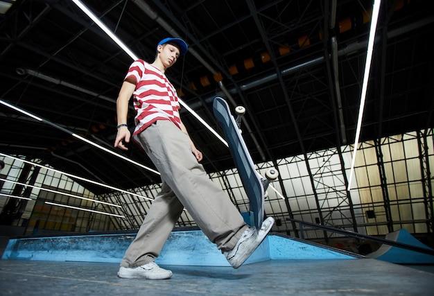 スケートボードでのトレーニング