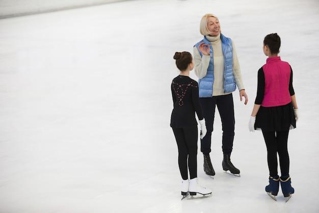コーチトレーニングフィギュアスケーター