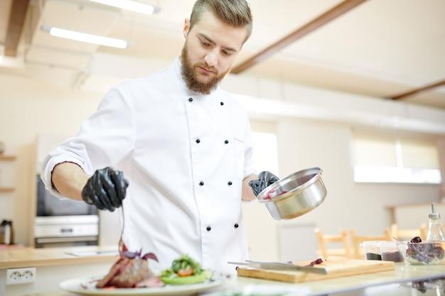Мясное блюдо от шеф-повара