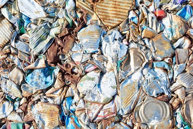 廃棄物処理プラントのゴミ箱