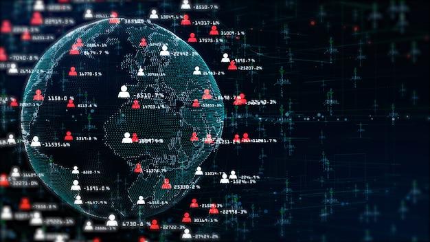 インターネットマーケティングのための技術ネットワーク