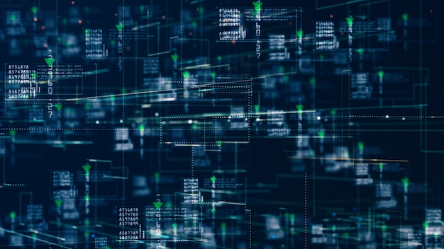 インターネットマーケティングホログラフィック情報のための技術ネットワーク