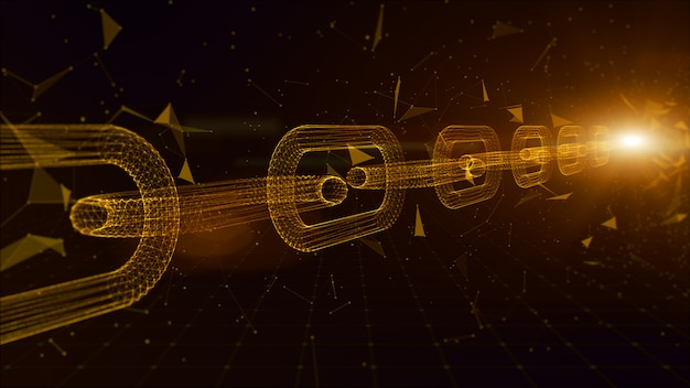 ネットワークチェーンリンク接続