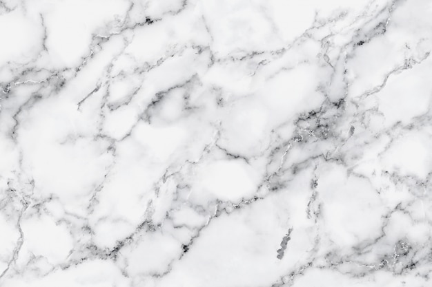 白い大理石の質感と装飾的なデザインパターンアート作品の背景の贅沢。