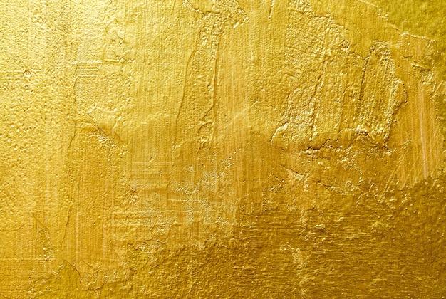 ゴールドの背景色または質感とグラデーションの影