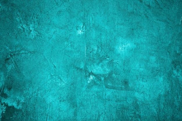 抽象的なコンクリートの青い壁テクスチャ背景のコンクリートの壁。