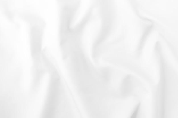 Текстура белой ткани.
