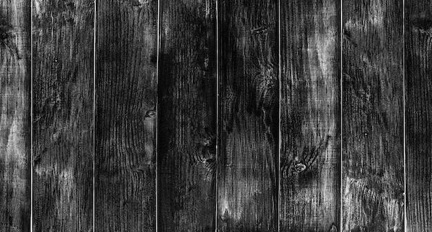 黒い木の床のテクスチャと背景