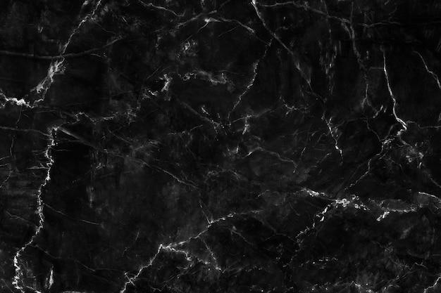 自然な黒大理石の表面