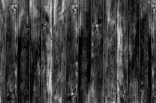黒い木の床のテクスチャと背景。