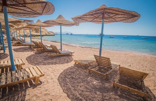 エジプトで最も美しいビーチのひとつ