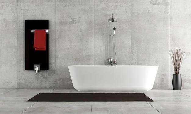 シンプルなバスルーム