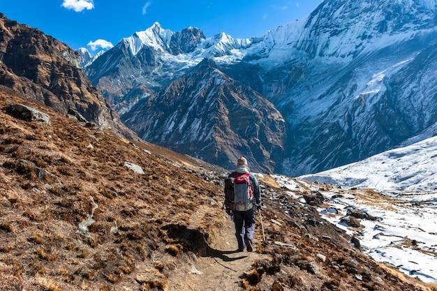 Треккинг в непале гималаях