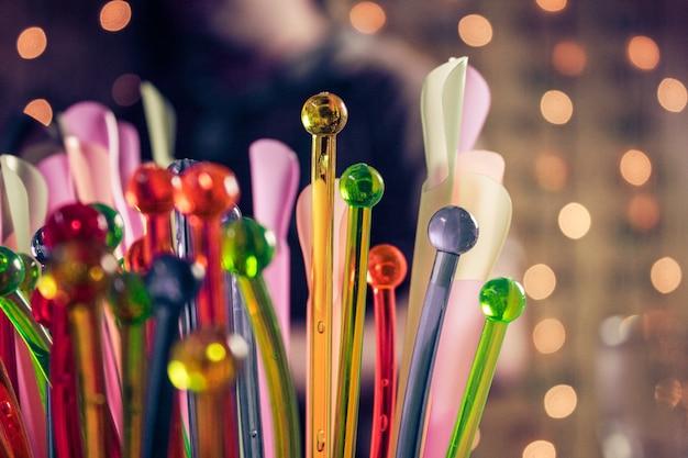 Коктейль цветной партии