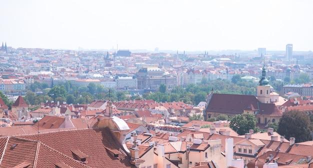 Пейзаж старого города праги
