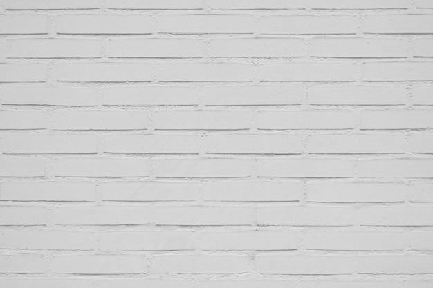 Красивая белая кирпичная стена