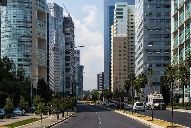 サンタフェメキシコ金融地区