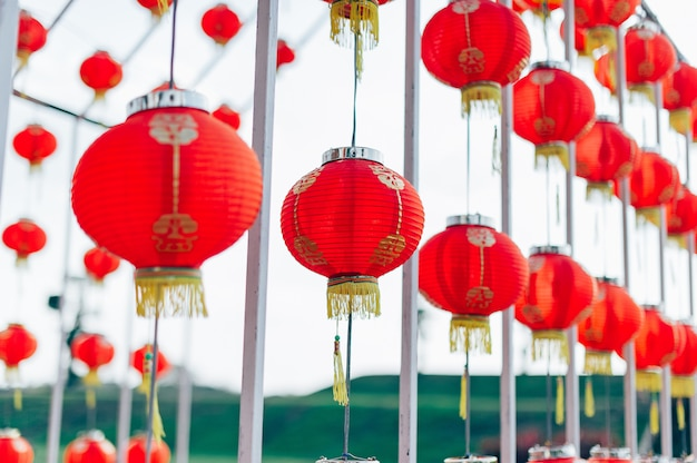 中国の国のランプの旧正月