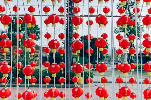 Лампа китайский новый год в китайской стране
