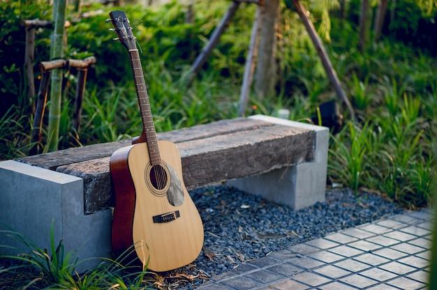 プロのギタリストのギター楽器のコンセプトエンターテイメントの