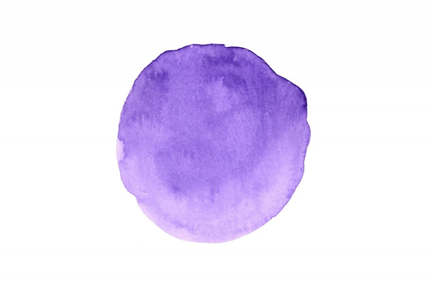 白い紙の上の芸術的なカラフルな抽象的なイメージの水彩画。水彩のコンセプトです。