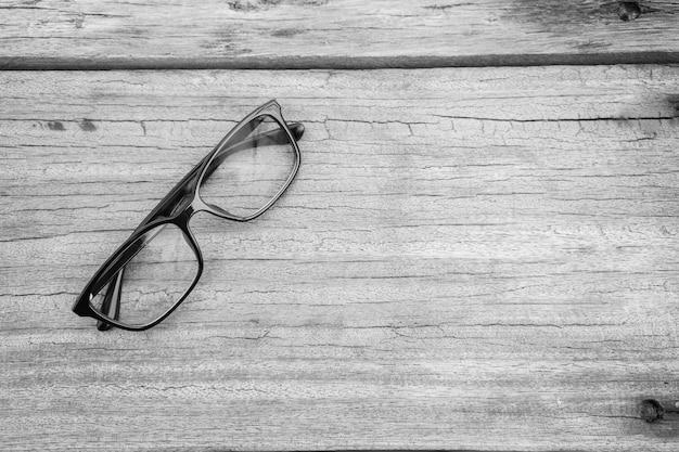 Черные очки для очков в блестящей черной оправе